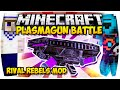 MINECRAFT: EPISCHES PLASMAGUN BATTLE ● PVP MINI-GAME | Nunan » Rival Rebels Mod Deutsch