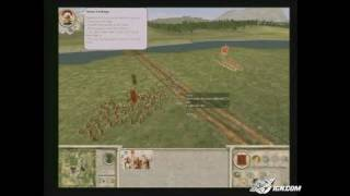 Rome: Total War PC Games Gameplay - Flanking and cheering