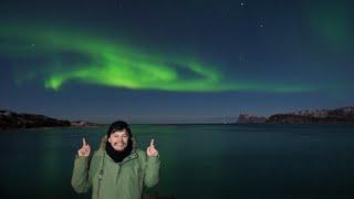 ZORZA - najpiękniejszy spektakl natury  norweskie Tromsø x GDZIE BĄDŹ