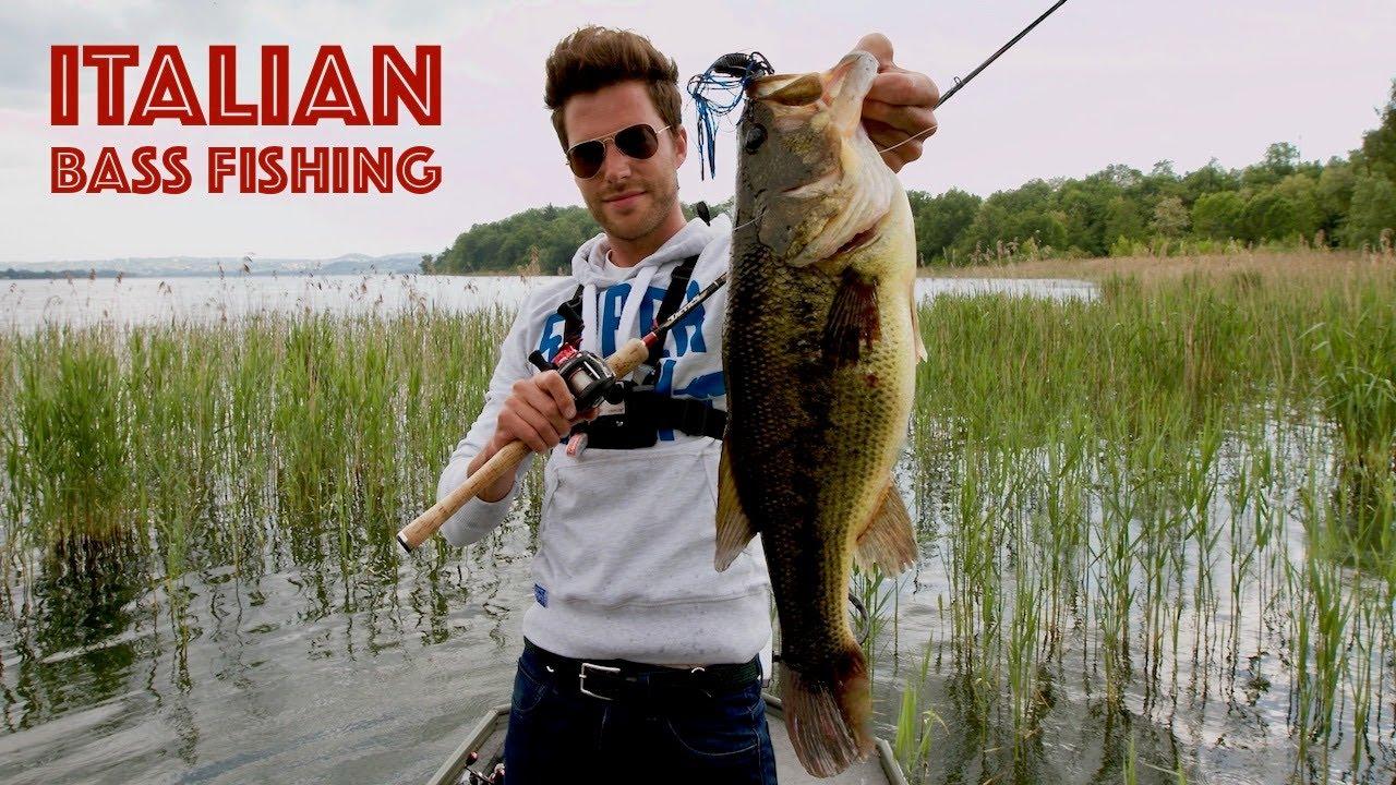 Italian bass fishing youtube for Fishing in italy