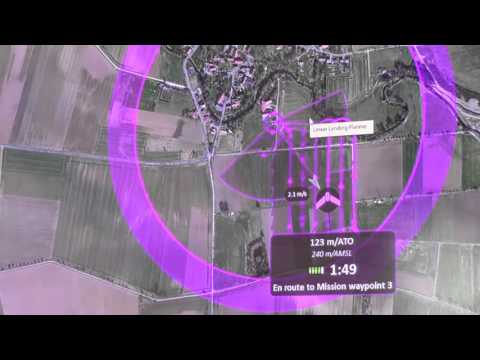 Agritechnica 2015: SenseFly eBee 'Drone to Tractor' System