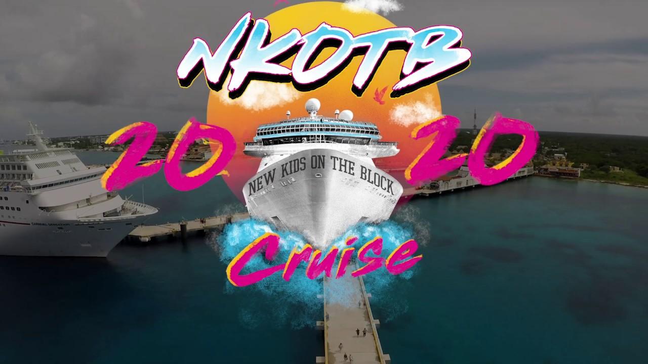 New Kids On The Block 2020.Nkotb Cruise 2020 Announce