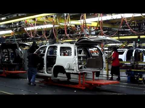 GM Arlington Assembly Plant Tour