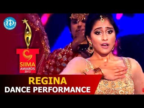 Regina Cassandra Dance Performance for AR Rahman Songs @ SIIMA 2014  Telugu