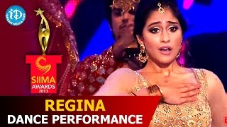 Regina Cassandra Dance Performance for A.R. Rahman Songs @ SIIMA 2014
