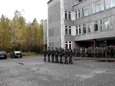 Строевая подготовка - школа №3 г. Костомукши