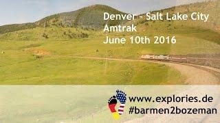 Denver - Salt Lake City by Amtrak train