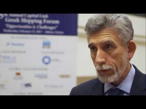 2017 8th Annual Greek Shipping Forum Interview-Nicolas Bornozis