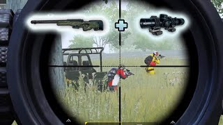 Ultimate sneak attack with AWM + 8x   PUBG Mobile