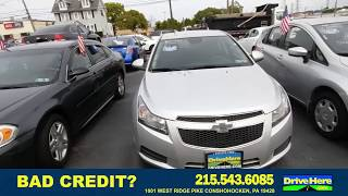 2014 Chevrolet Cruze, 100% Application Review Policy