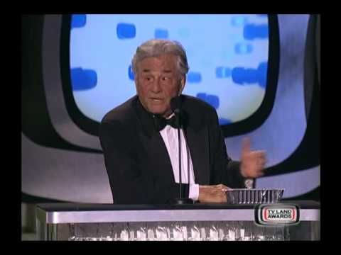 Peter Falk and wife Shera Danese on TV Land Awards