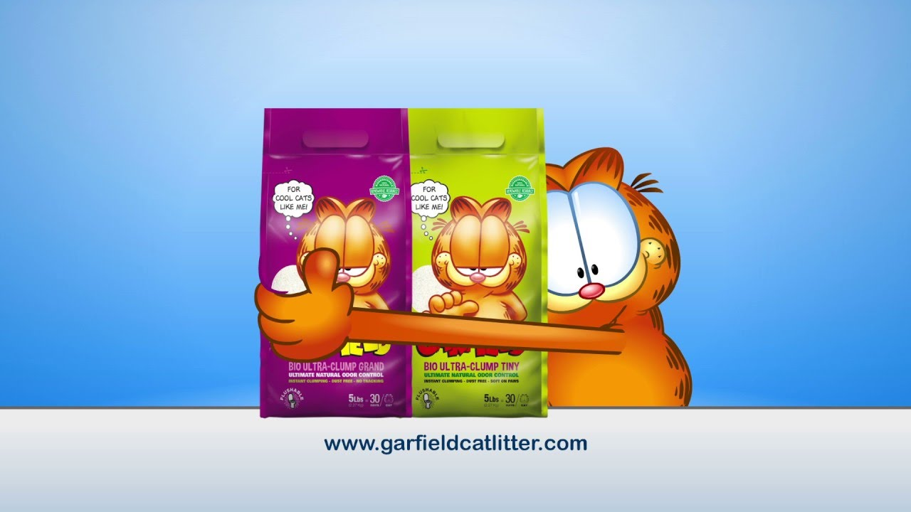 New Earth Friendly Garfield Cat Litter Offers Natural Odor Control Solution