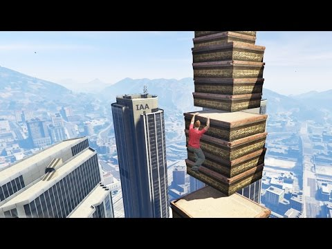 THE IMPOSSIBLE PARKOUR CHALLENGE?! (GTA 5 Online)