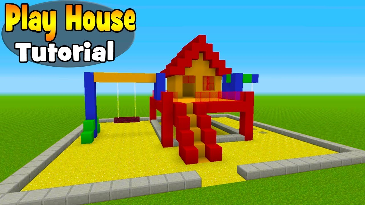 Minecraft Tutorial How To Make A Play House House