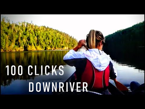 100km Fishing & Canoe Trip Down The Steel River