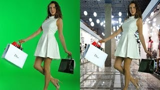 Fashion Photography workshop - Tips how-to make GREAT model photos on Green Screen Studio Chroma key Thumbnail