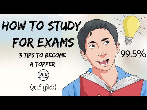 HOW TO STUDY FOR EXAMS IN TAMIL| how to study for public exam| become a topper | almost everything