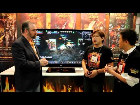 Magic World Online 2 - E3 interview with developer Zhao Wei
