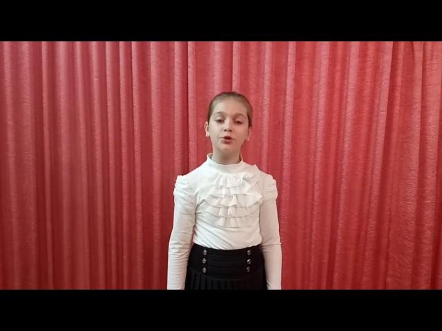 Изображение предпросмотра прочтения – СофияМеньшикова читает произведение «Жди меня иявернусь…» К.М.Симонова