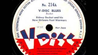 V-Disc 214  Sidney Bechet,  The Original Dixieland Jazz Band