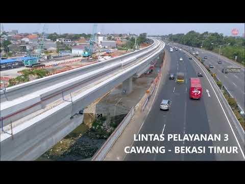 Ditargetkan Beroperasi pada 2019, Berikut Perkembangan Proyek LRT Jabodebek Per Agusuts 2018