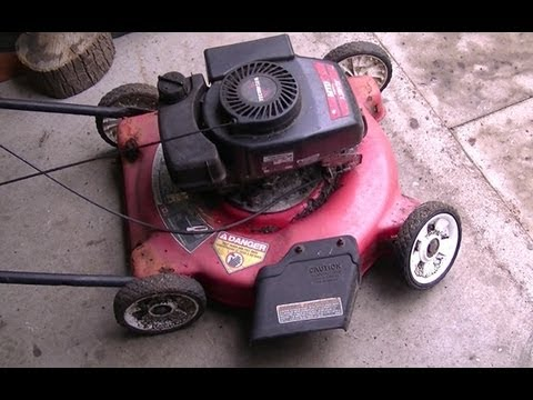 lawn mower engine on a bicycle doovi. Black Bedroom Furniture Sets. Home Design Ideas