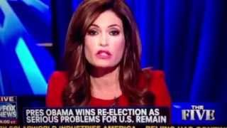 Fox News the Five Obama victory reaction