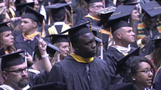 2016 Spring Commencement: Fairmount College of Liberal Arts and Sciences, and College of Fine Arts