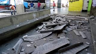 Desabou o teto da Estação Rodoviária de Limoeiro do Norte