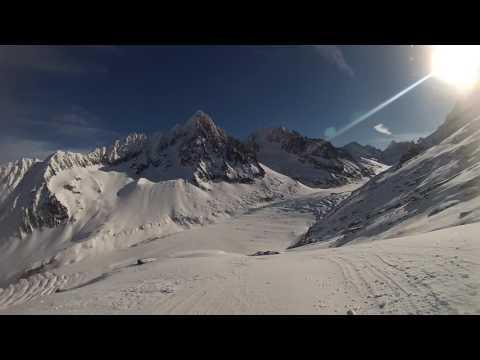 Grand Montets - 3295m - Chamonix Mt. Blanc - GoPro