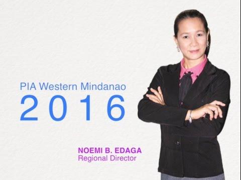 PIA Western Mindanao 2016