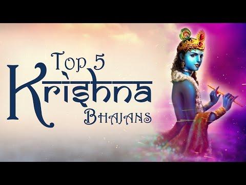 TOP 5 KRISHNA BHAJANS - RADHE RADHE SHYAM - GOVINDA BOLO GOPALA BOLO - KRISHNA GOPALA