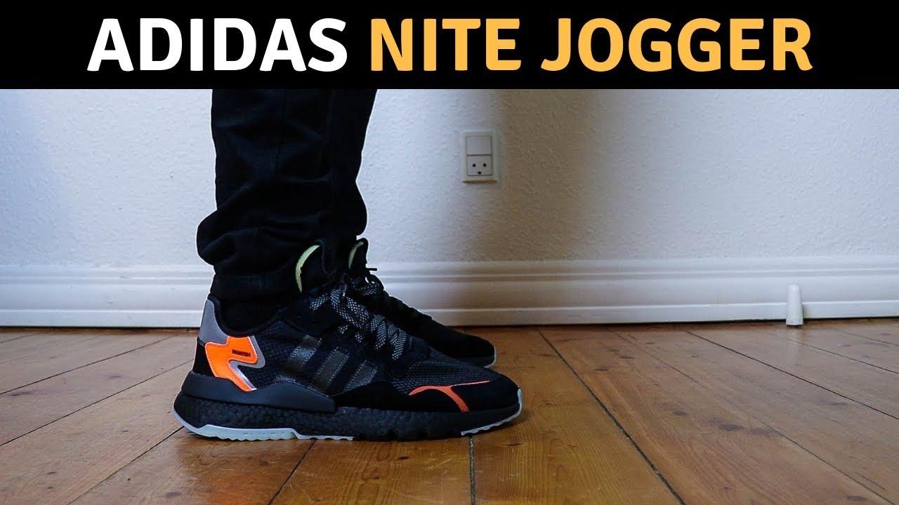 cc428a54b Adidas Nite Jogger On Feet - YouTube