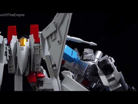 Starscream's Ambition (Maketoys Re:Master MTRM-11 Meteor VS MTRM-08 Despotron ) Not megatron