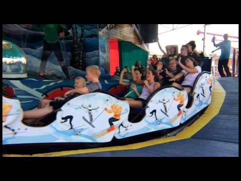 Slo-mo: Riders Hang On At 45 MPH