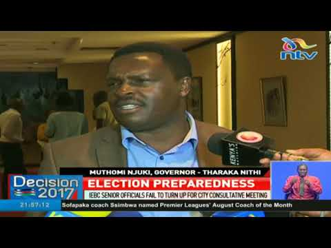 IEBC Senior officials fail to turn up for city consultative meeting