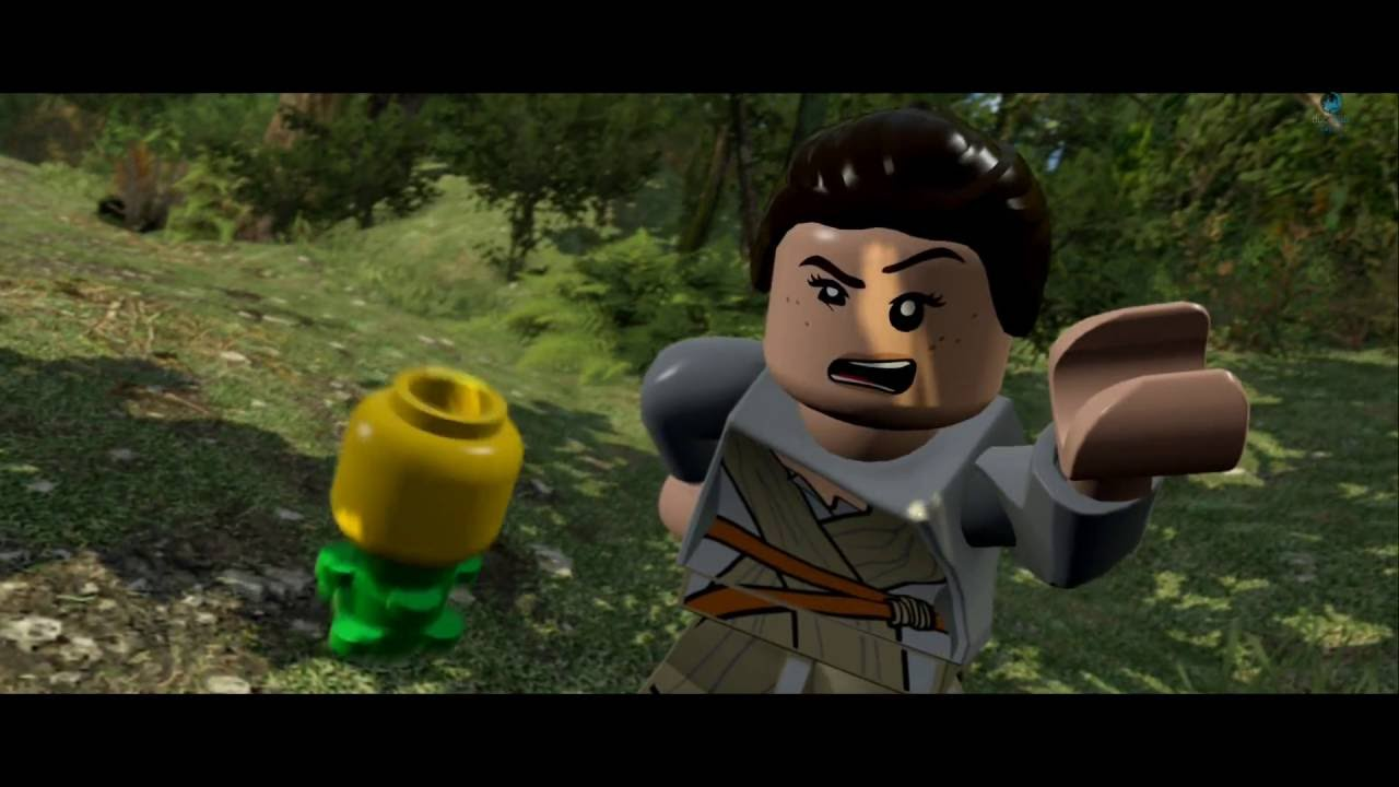Star Wars Force Awakens 1080p: Lego Star Wars The Force Awakens: All Funny Scenes(PS4