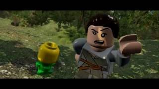Lego Star Wars The Force Awakens: All Funny Scenes(PS4/1080p)
