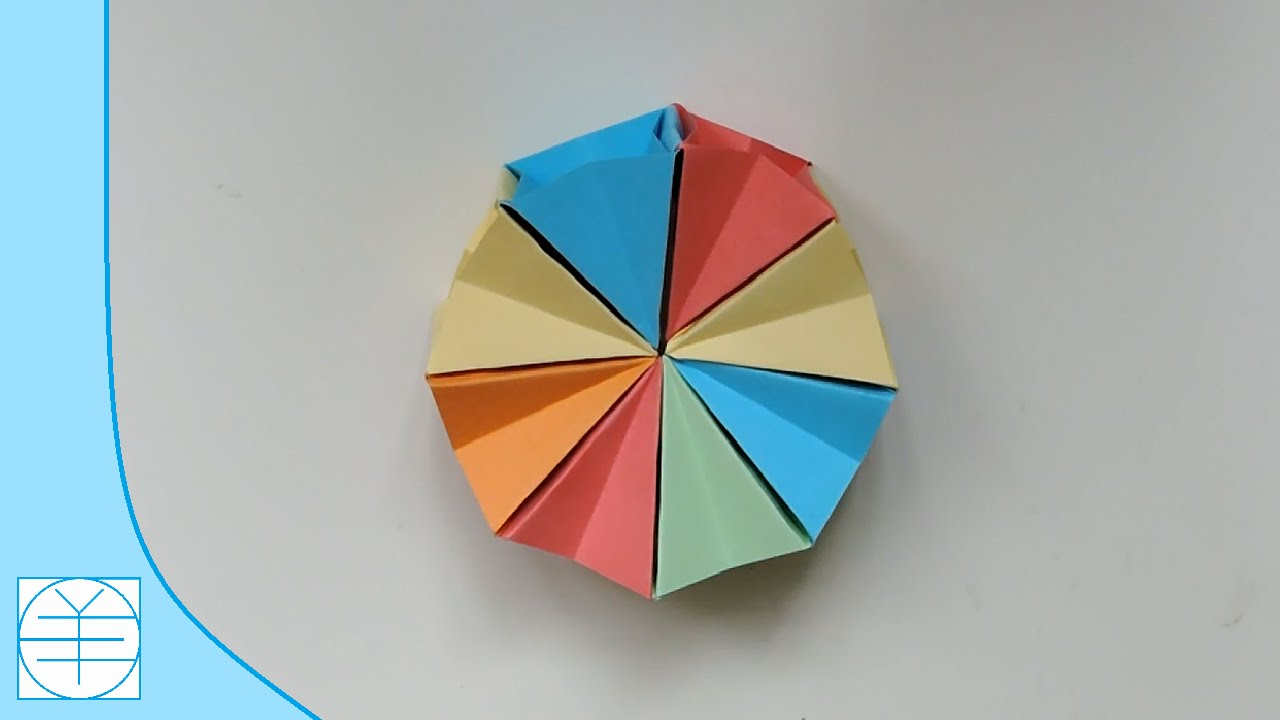 Origami Magic Circle Easy Instructions Full HD