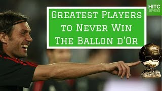 7 Greatest Players to Never Win the Ballon d'Or