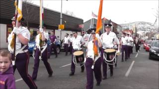 Shankill Junior Orange Order Off To Newtownards Easter Tuesday 2013