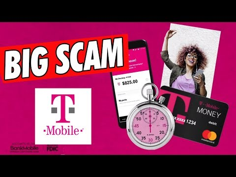 is the T-mobile Bank App a Scam