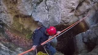 Canyoning - Ravin de Mainmorte - Verdon