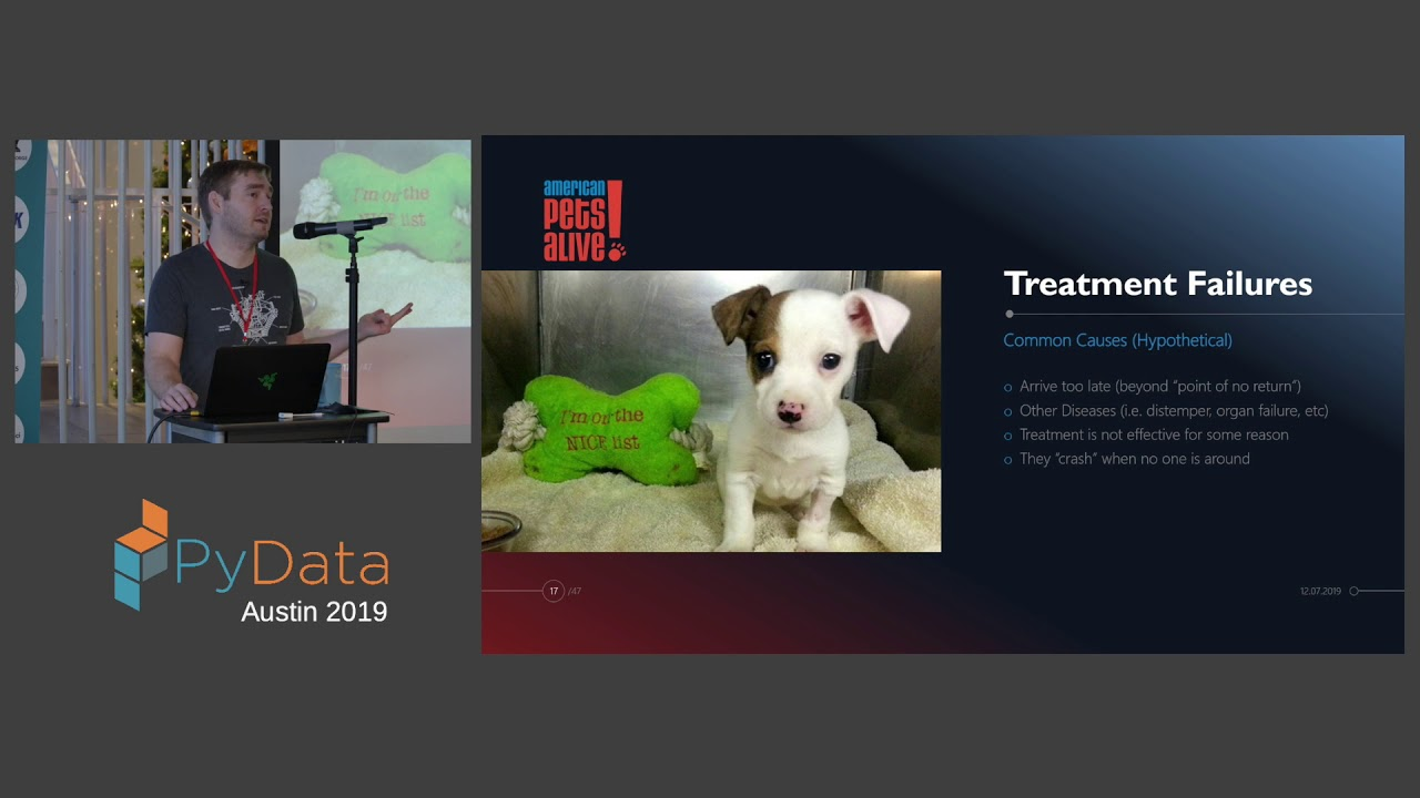Image from Dr. Kevin Horecka: 3 Case Studies in Applying Advanced Technology... | PyData Austin 2019