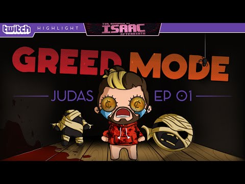 The Binding Of Isaac : Afterbirth | Greed Mode |  Stream Highlight [01]