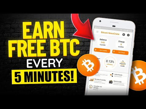 Earn FREE Bitcoin Every 5 Minutes (Ultimate Hack to Earn FREE Bitcoin FAST!) Make Money Online 2021