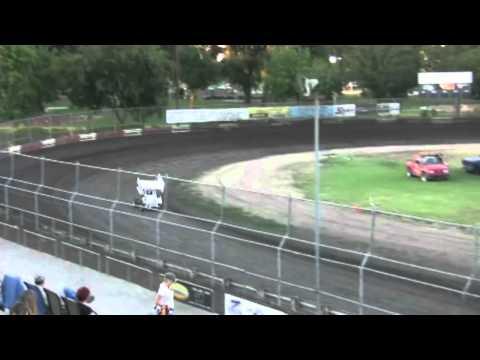 Dominic Scelzi 8/13/10 Super 600 Qualifying Plaza Park Raceway Visalia