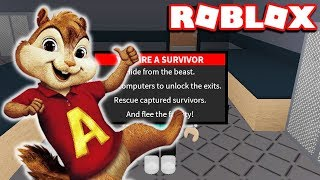 ALVIN PLAY ROBLOX FLEE THE FACILITY (ALIVIN & THE CHIPMUNKS)