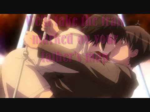 Sixpence None The Richer-Kiss Me *Lyrics* (Anime Kisses)