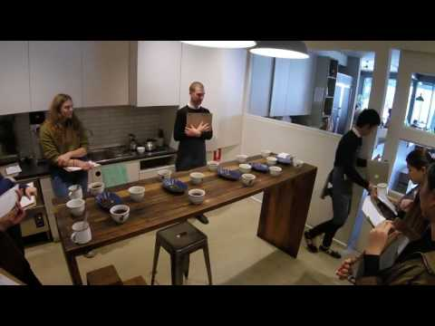 Melbourne Coffee Tour - Market Lane Coffee Cupping 280717